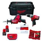 фото Milwaukee M12 SET2H-402W Набор инструментов